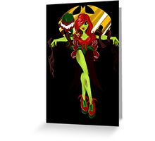 poison touch Greeting Card