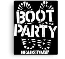 Party Boot Canvas Print