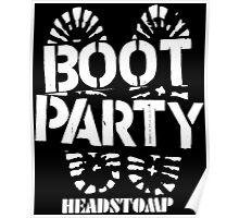 Party Boot Poster