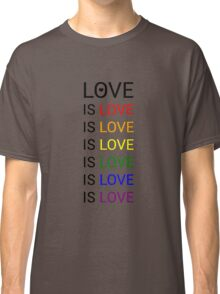 love is love is love Classic T-Shirt
