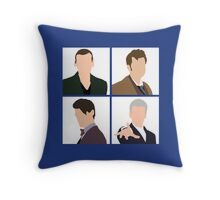 The Doctors Throw Pillow