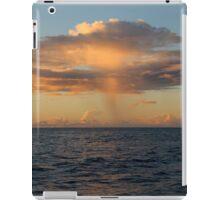 Rain Cloud over Indian Ocean iPad Case/Skin