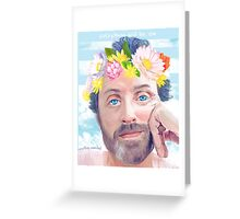 WATER SPRITE BENEDICT TEXT EDIT. Greeting Card