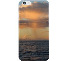 Rain Cloud over Indian Ocean iPhone Case/Skin