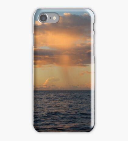 Rain Cloud over Indian Ocean iPhone Case/Skin