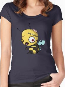 Bee zombie Women's Fitted Scoop T-Shirt
