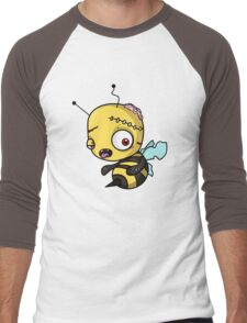 Bee zombie Men's Baseball ¾ T-Shirt