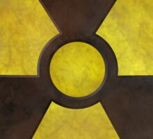Radioactive Geek Gamer Sticker