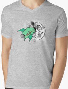 Voyage dans la lune Mens V-Neck T-Shirt