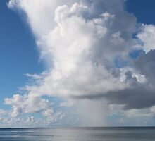 Indian Ocean Cloudy Sky by EvieRose