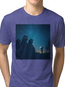 The Gift (blue) Tri-blend T-Shirt