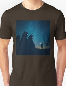 The Gift (blue) Unisex T-Shirt