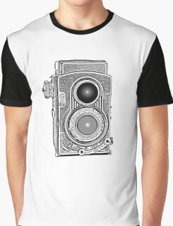 Vintage Retro Camera Graphic T-Shirt