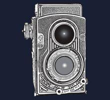 Vintage Retro Camera One Piece - Short Sleeve