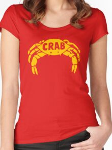 Crab Records Women's Fitted Scoop T-Shirt
