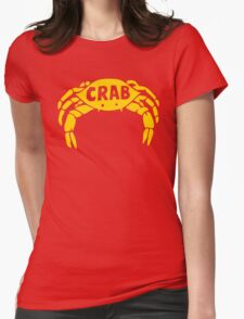 Crab Records Womens Fitted T-Shirt