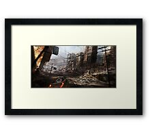 The Will To Survive Framed Print