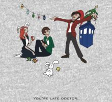 The Doctor is Late One Piece - Short Sleeve