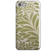 Classic Edwardian Print iPhone Case/Skin
