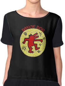 DANCE DOG Chiffon Top