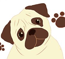 Pug by mllemaple