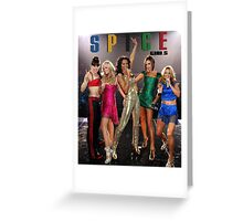 spice girl personnel Greeting Card
