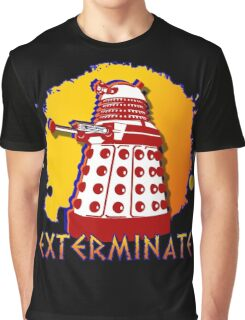 Doctor Who: Exterminate Dalek Art Graphic T-Shirt
