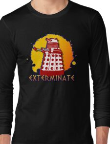 Doctor Who: Exterminate Dalek Art Long Sleeve T-Shirt