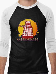 Doctor Who: Exterminate Dalek Art Men's Baseball ¾ T-Shirt