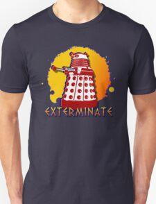 Doctor Who: Exterminate Dalek Art Unisex T-Shirt