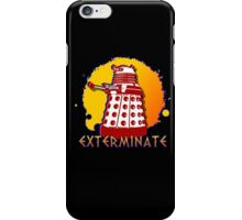 Doctor Who: Exterminate Dalek Art iPhone Case/Skin
