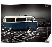 Classic VW Camper - Image 3 Poster