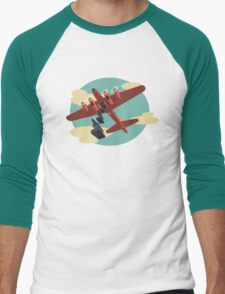 Knockout Dropper Men's Baseball ¾ T-Shirt