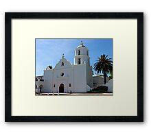 Old Mission San Luis Rey Framed Print