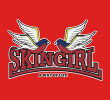 "SKINGIRL "" A WAY OF LIFE "" 001 Kids Tee"