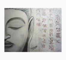 Buddha Face Kids Tee