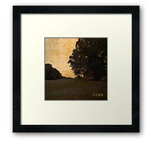 .tree Framed Print