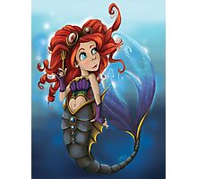 Steampunk Little Mermaid Photographic Print