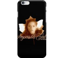 Clara the Impossible Girl from Doctor Who iPhone Case/Skin