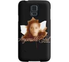 Clara the Impossible Girl from Doctor Who Samsung Galaxy Case/Skin