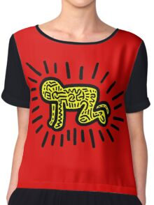 HARING - COUPLE For CHILD (Family) Chiffon Top
