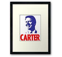 CARTER Framed Print