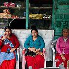 Three generations enjoy c'hai in Manaly by MichaelBr