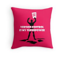 work wit Throw Pillow