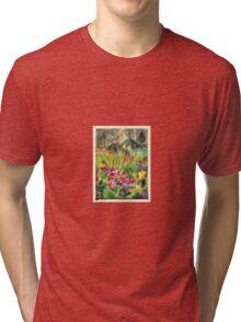 Mini Jungle Tri-blend T-Shirt