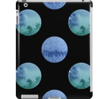seamless watercolor pattern with drops in blue and green color.  iPad Case/Skin