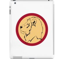 Lion the The King iPad Case/Skin