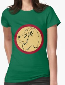 Lion the The King Womens Fitted T-Shirt