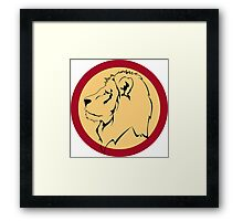 Lion the The King Framed Print