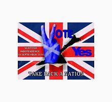 take back a nation - Scottish vote for independence Unisex T-Shirt